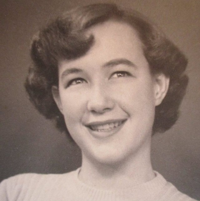 Berrell Jensen as a young woman, South Africa