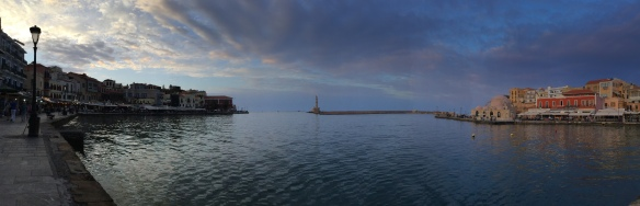 Writing on the Edge of the Sea, Chania